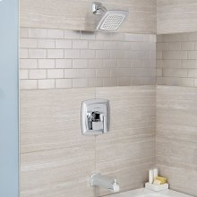 Townsend Bath and Shower Trim Kit with Water-Saving Shower Head - Polished Chrome