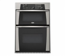 Stainless Steel Whirlpool Gold® 30 in. Built-In Microwave/Oven Combination