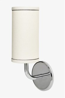 Flyte Wall Mounted Single Arm Sconce with Fabric Shade STYLE: FLLT01