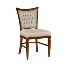 Calista Dining Side Chair, Upholstered in MAZO