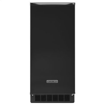 Black KitchenAid® 15'' Automatic Ice Maker