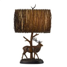 150W 3Way Elk Resin Table Lamp