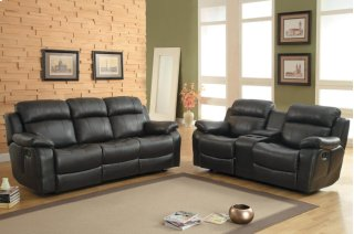Marille Reclining Sofa w/ Center Drop-Down Cup Holders