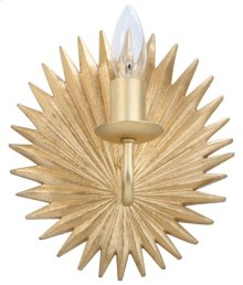Abelie Wall Sconce - Gold Leaf