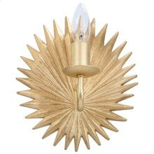 Abelie Wall Sconce - Gold Leaf
