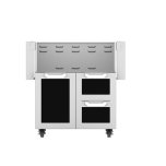 "Hestan30"" Hestan Outdoor Tower Cart with Door/Drawer Combo - GCR Series - Stealth"