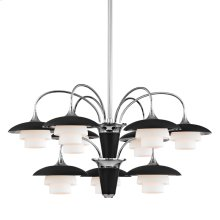 Chandelier - Polished Nickel