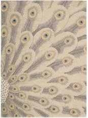 Moda Mod01 Chrom Rectangle Rug 5'6'' X 7'5''