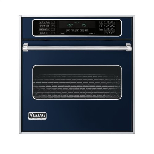 "Viking Blue 27"" Single Electric Touch Control Premiere Oven - VESO (27"" Wide Single Electric Touch Control Premiere Oven)"