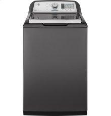 GE® 5.0 DOE cu. ft. stainless steel capacity washer