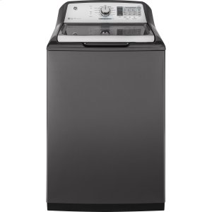 GE® 5.0 cu. ft. Capacity Washer with Stainless Steel Basket Product Image
