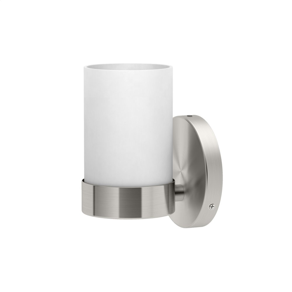 Glam Lighting Sconces in Satin Nickel
