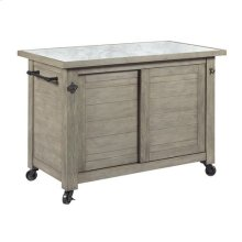 Junction Shiplap Kitchen Island