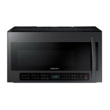 2.1 cu. ft. Over the Range Microwave with Sensor Cooking in Black Stainless Steel