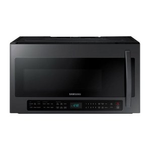 Samsung2.1 cu. ft. Over-the-Range Microwave with Sensor Cooking in Fingerprint Resistant Black Stainless Steel