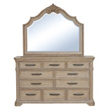 Monterey 10 Drawer Dresser in Sandcastle Beige