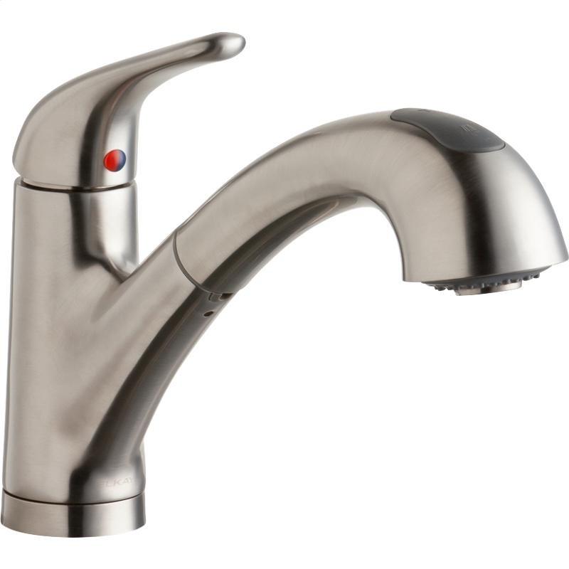 Deck Mount Kitchen Faucet | Lk5000ls In Lustrous Steel By Elkay In New Milford Ct Elkay