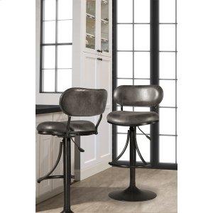 Hillsdale FurnitureAthena Swivel Adjustable Stool - Black