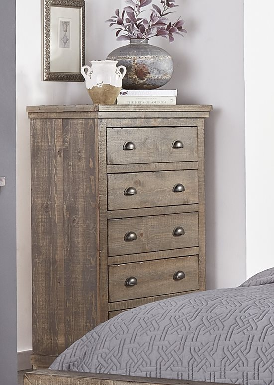 Chest   Weathered Gray Finish