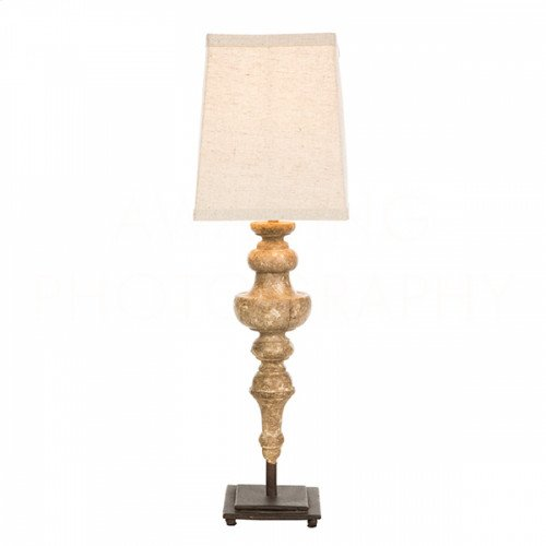 Rakel Golden Brown Table Lamp