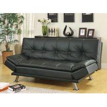 Dilleston Contemporary Black Sofa Bed