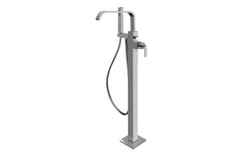 Immersion Floor-Mounted Exposed Tub Filler