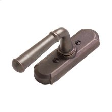 Arched Tilt & Turn Window Escutcheon - EW707 Silicon Bronze Brushed