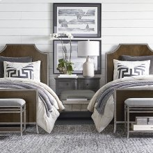 Twin/Brindle Palisades Panel Bed