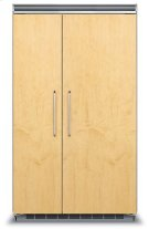 "48"" Custom Panel Side-by-Side Refrigerator/Freezer Product Image"