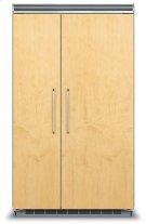 "48"" Custom Panel Side-by-Side Refrigerator/Freezer Product Image"