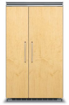 "48"" Custom Panel Side-by-Side Refrigerator/Freezer"