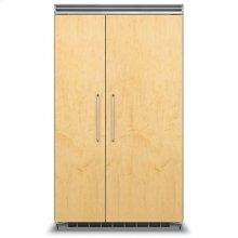"48"" Custom Panel Side-by-Side Refrigerator/Freezer"
