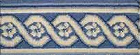 LUXE POINTE FLOWER TRELLIS LP13 MEDBL-B 7.6''