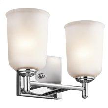 Shailene Collection Shailene 2 Light Bath Light CH