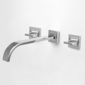 1600 Series Wall Mount Vessel Lavatory Set with Nuance Handle (available as trim only P/N: 1.163807T)