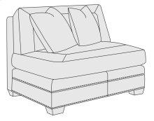 Grandview Armless Chair in Mocha (751)