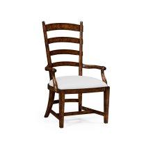 Oak Fireside Armchair (COM)