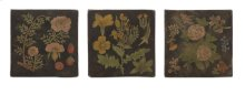 Delia Hand-painted Wall Panels - Set of 3