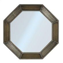 Bayshore Octagonal Mirror - Distressed Graywash