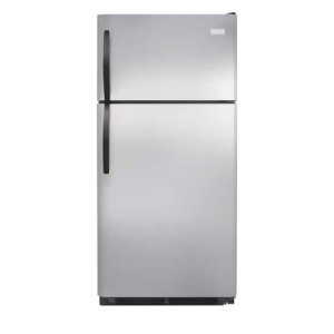 15 Cu. Ft. Top Freezer Refrigerator - STAINLESS STEEL