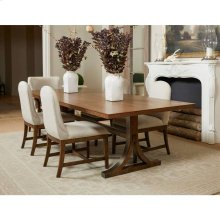 "Hillside 78"" Rectangular Dining Table - Chestnut"