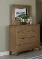 Drawer Dresser - Jute Finish Product Image