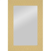 The Brewster Upholstered Mirror 9406P-MI
