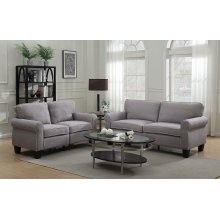 Ashwell Gray Sofa, Love, Chair, SWU9876