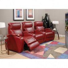 Leather/ Match Recliner W/ Power