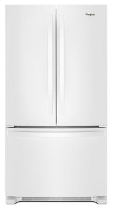 *Scratch and Dent* 36-inch Wide French Door Refrigerator with Water Dispenser - 25 cu. ft.