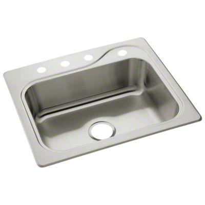 """Southhaven® Single-basin Kitchen Sink, 25"""" x 22"""" x 7"""""""