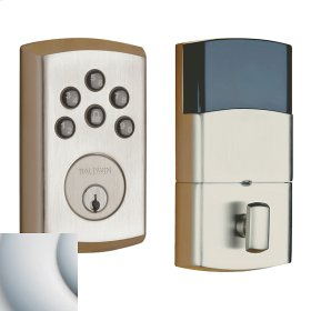 Satin Chrome Soho AC Z-Wave Deadbolt