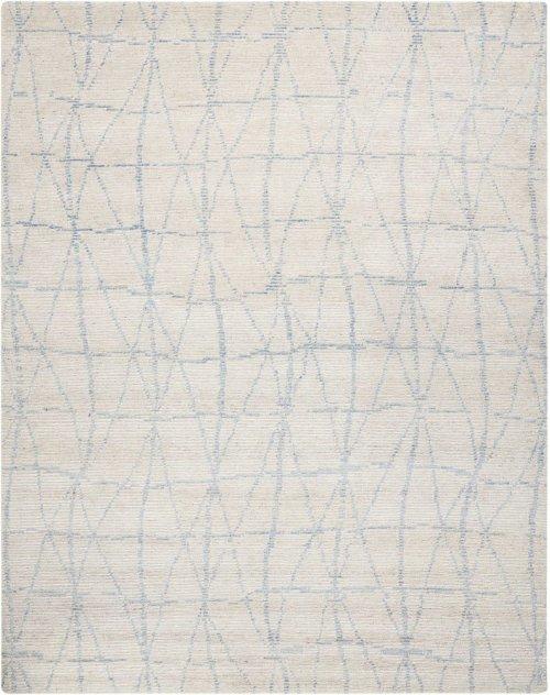 Ellora Ell02 Sky Rectangle Rug 7'9'' X 9'9''