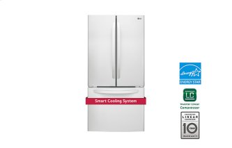 "33"" French Door Refrigerator With Smart Cooling System, 24 CU.FT."